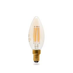 Osram Vintage 1906 Led Cl B Fıl Gold 36 Non-Dim 4,5W/825 E14 Sarı Işık Ampul