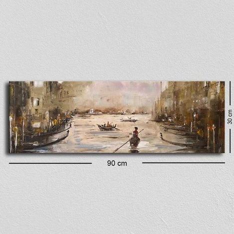 Resim  Özgül TUF-016 Kanvas Tablo - 30x90 cm
