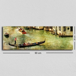 Özgül TUF-020 Kanvas Tablo - 30x90 cm