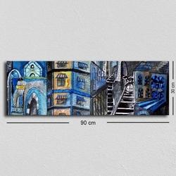 Özgül Grup TUF-028 Kanvas Tablo - 30x90 cm