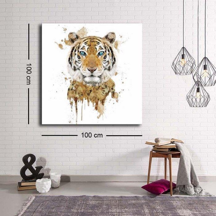 Resim  Özgül Grup C-009 Kanvas Tablo - 100x100 cm