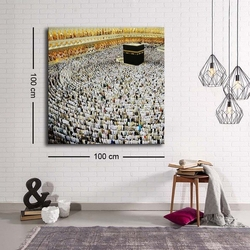 Özgül Grup C-049 Kanvas Tablo - 100x100 cm