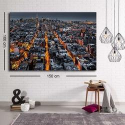 Özgül Grup C-007 Kanvas Tablo - 100x150 cm