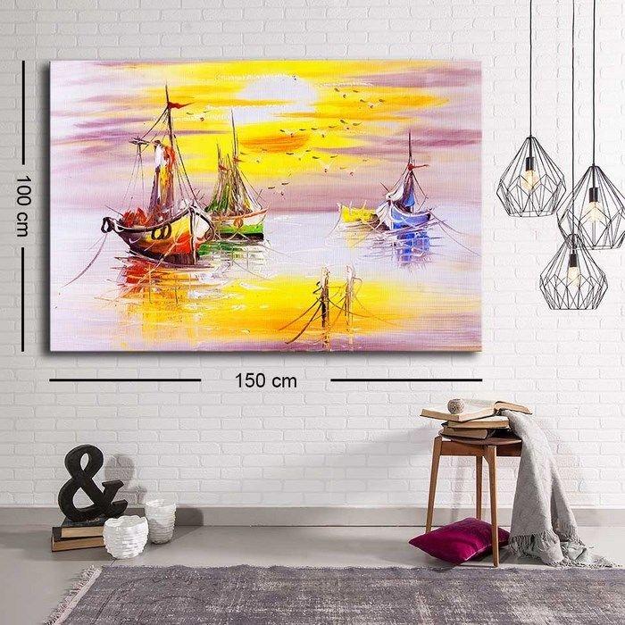 Resim  Özgül C-018 Kanvas Tablo - 100x150 cm