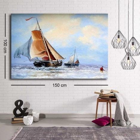Resim  Özgül C-037 Kanvas Tablo - 100x150 cm