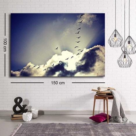 Resim  Özgül Grup C-058 Kanvas Tablo - 100x150 cm