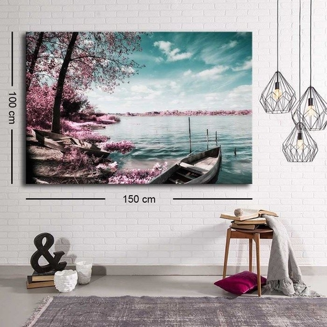 Resim  Özgül C-060 Kanvas Tablo - 100x150 cm
