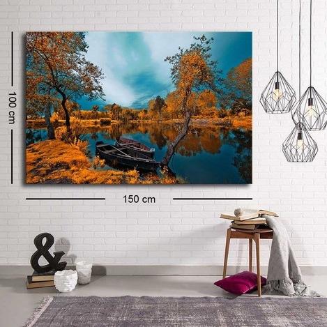 Resim  Özgül Grup C-061 Kanvas Tablo - 100x150 cm