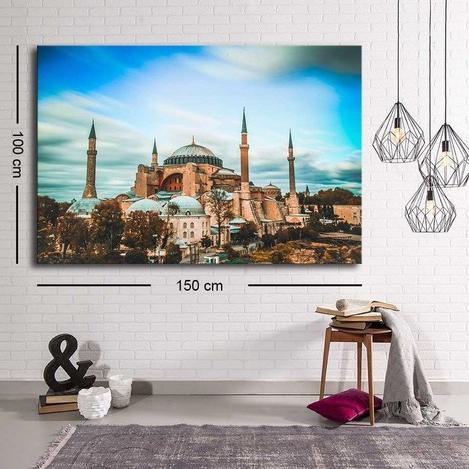 Resim  Özgül C-065 Kanvas Tablo - 100x150 cm