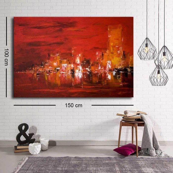 Özgül Grup C-073 Kanvas Tablo - 100x150 cm