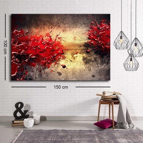 Resim  Özgül C-075 Kanvas Tablo - 100x150 cm