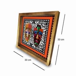 Özgül Grup 3030AHS065 Ahşap Çerçeveli Tablo - 30x30 cm