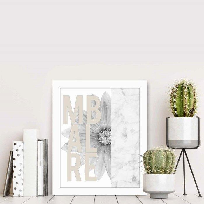 Resim  Özgül BCT-042 Beyaz Çerçeveli Tablo - 23,5x28,5 cm
