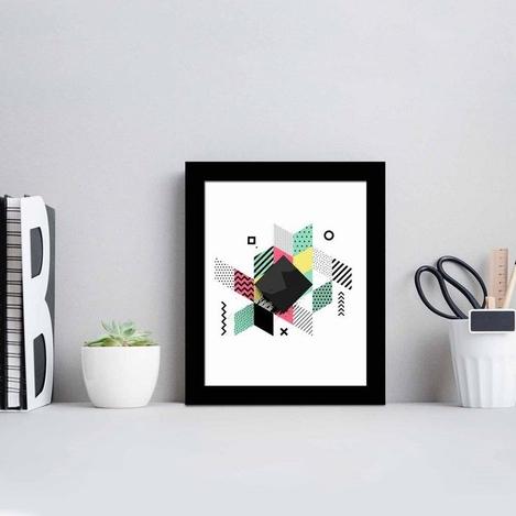 Resim  Özgül Grup SCT-034 Siyah Çerçeveli Tablo - 23,5x28,5 cm