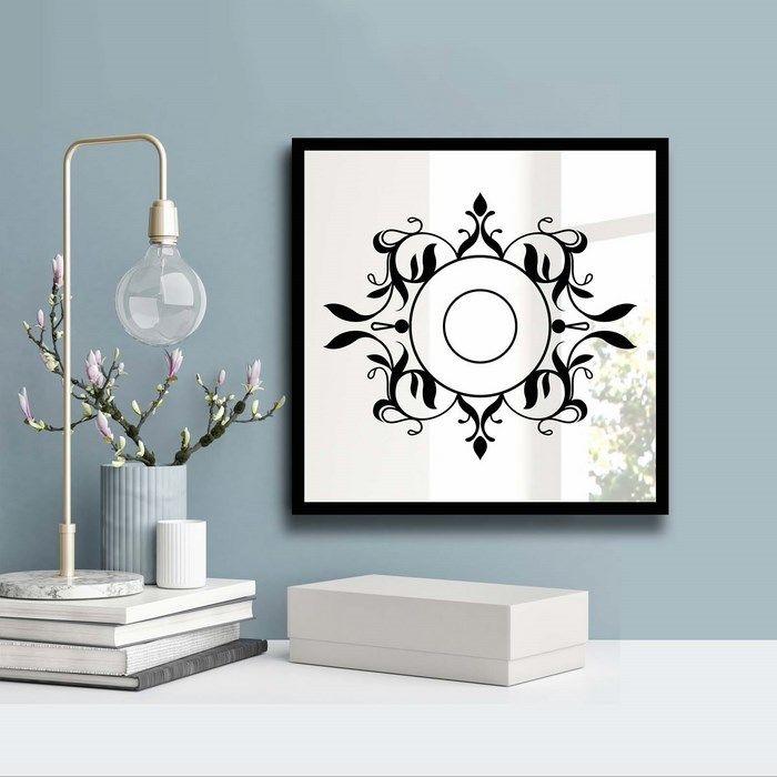 Resim  Özgül Grup 3030SA-022 Desenli Dekoratif Ayna