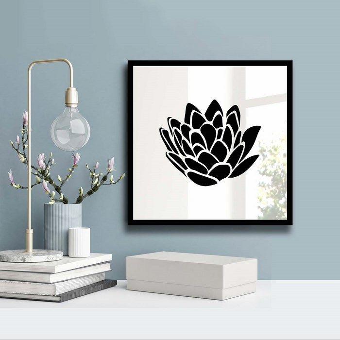Resim  Özgül Grup 3030SA-035 Desenli Dekoratif Ayna