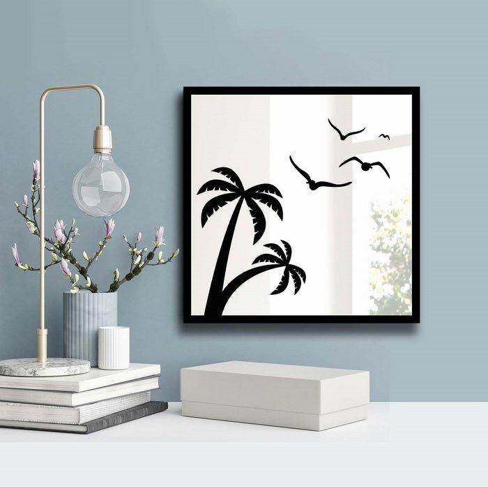 Resim  Özgül Grup 3030SA-043 Desenli Dekoratif Ayna