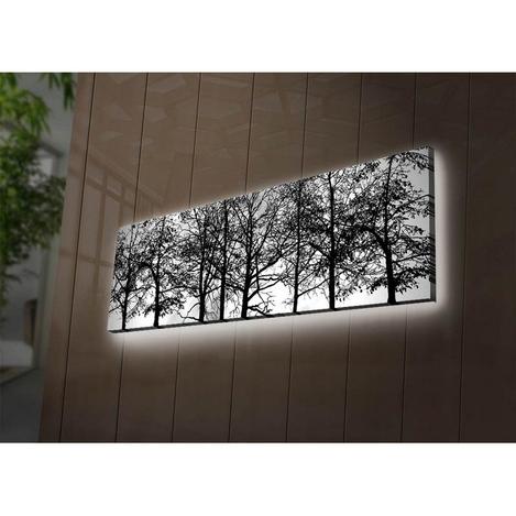 Resim  Özgül 3090DACT-72 Aydınlatmalı Kanvas Tablo - 30x90 cm