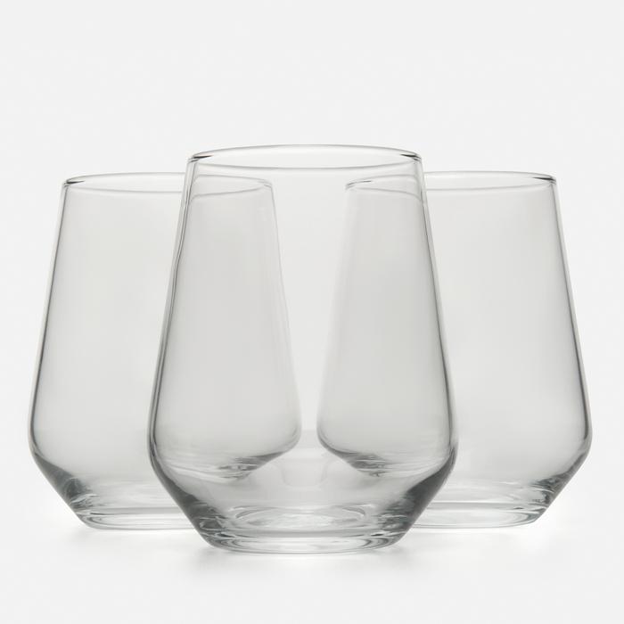 Resim  Paşabahçe 41536 3'lü Allegra Meşrubat Bardağı - 470 cc