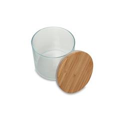 Paşabahçe 43663 Bamboo Kapaklı Kavanoz - 700 ml