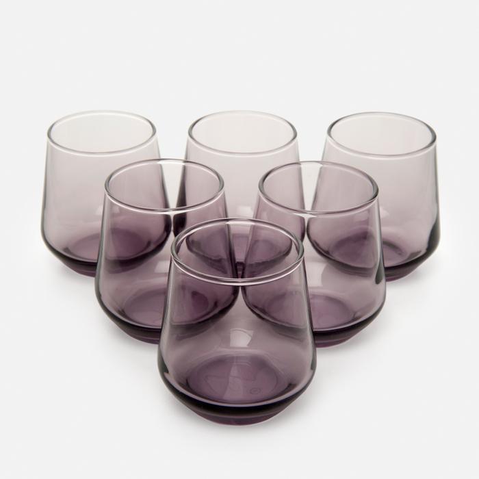 Resim  Paşabahçe 420202 Allegra 6'lı Kahve Yanı Su Bardağı - Mor / 115 cc