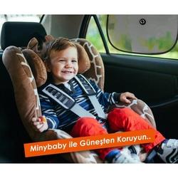 Miny Baby 2'li Araç İçi Vantuzlu Güneşlik
