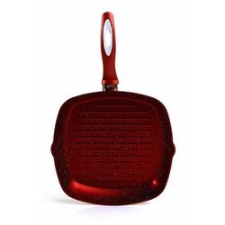 Papilla 28 cm Ezme Grill Tava - Kırmızı