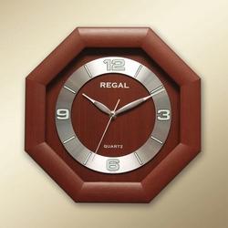 Regal 154 RS Ahşap Dekoratif Duvar Saati - 29x29 cm
