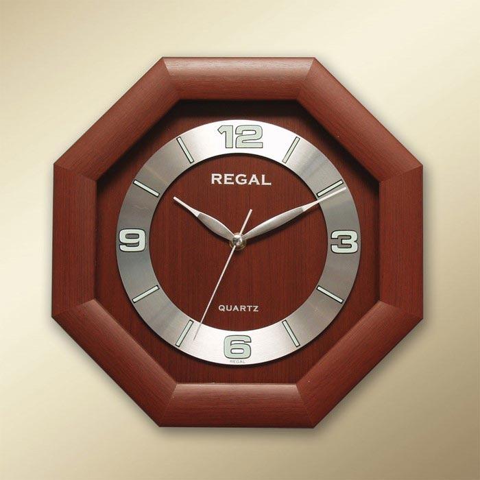 Resim  Regal 154 RS Ahşap Dekoratif Duvar Saati - 29x29 cm