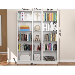 House Line Dilek Kitaplık - Beyaz