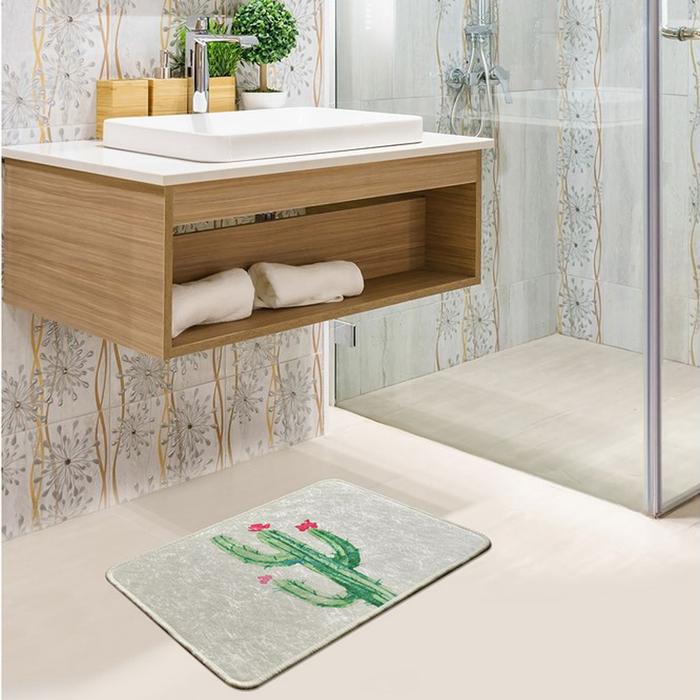 Chilai Home Fiore DJT Banyo Halısı - 40x60 cm