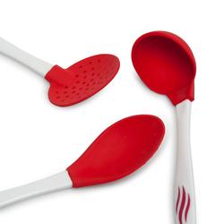 Silicolife 3'lü Amazon Servis Seti - Kırmızı