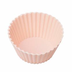 Silicolife 6'lı Silikon Muffin Kalıbı - Soft Pembe