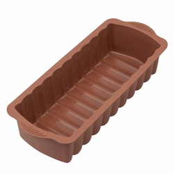 Silicolife Baton Kek Kalıbı - Kahverengi