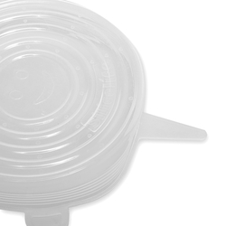 Silicolife 6'lı Streç Silikon Kapak Seti