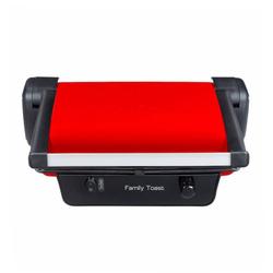 TefalFamily Toast Tost Makinesi - Kırmızı / 1800 Watt