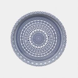 Perotti Blue Metal Tepsi - 34 cm