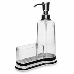Perotti Akrilik Süngerlikli Sıvı Sabunluk - Silver