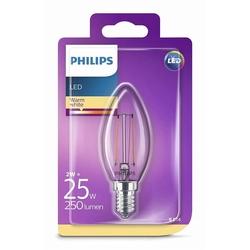 Philips B35 Led Classic 25W E14 Non-Dim 2700K  Ampul