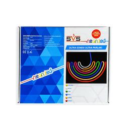 Svs Neon Led Hortum Ip55 Üç Çipli Tak Çalıştır 2 Mt - Beyaz