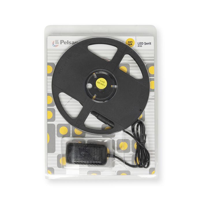 Pelsan 60 Smd Led Şerit Ip20 2,5m Sarı Işık