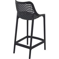 Siesta Air Bar 65 Bar Sandalyesi - Siyah