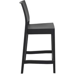 Siesta 65 Maya Bar Sandalyesi - Siyah