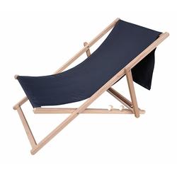 Tevalli Ahşap Katlanır Bahçe Balkon ve Plaj Sandalyesi - Antrasit