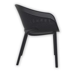 Siesta 102 SKY Bahçe Sandalyesi - Siyah