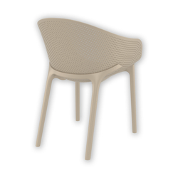 Siesta 102 SKY Bahçe Sandalyesi - Kum Gri