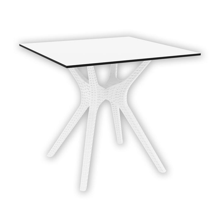 Siesta İbiza 80 Bahçe Masası - Beyaz