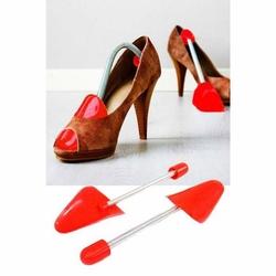 Show Yaylı Bayan Ayakkabı Kalıbı - Kırmızı