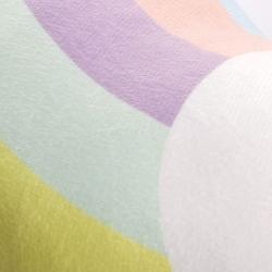 Selay Gökkuşağı Figürlü Yastık - 40 cm
