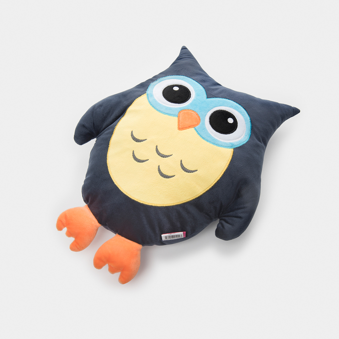Resim  Selay Baykuş Figürlü Yastık - 35 cm